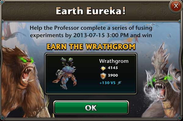 LTQ Event : Earth Eureka></p>