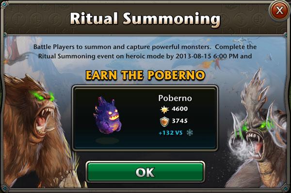 LTQ Event : Ritual Summoning